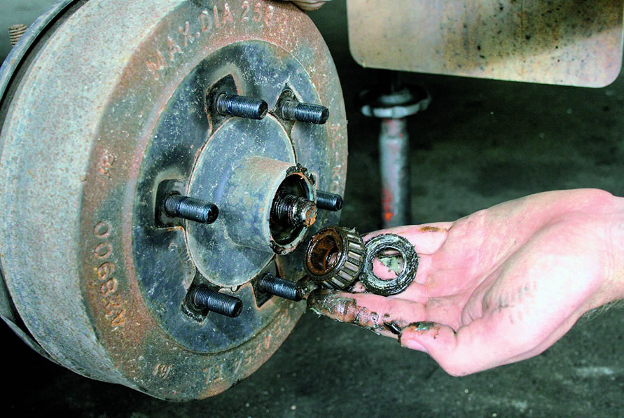 trailer wheel bearing service gold coast
